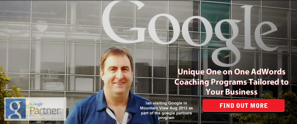 Ian Redford AdWords Coach