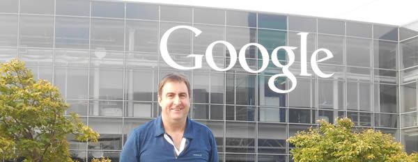 Ian Redfordord Visiting Google