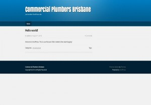 Commercial Plumbers Brisbane