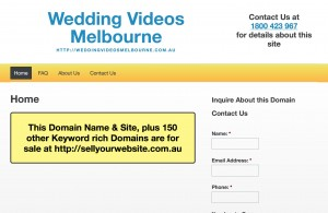 Wedding Videos Melbourne