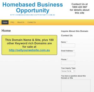 Homebased Business Opportunity